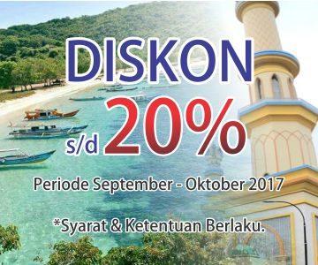 Promo Paket Wisata Lombok & Paket Tour Lombok 2017